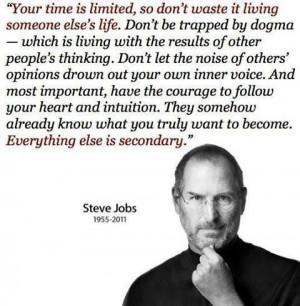Steve Jobs Famous Quote