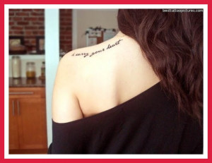 Tattoo Quotes About Family...