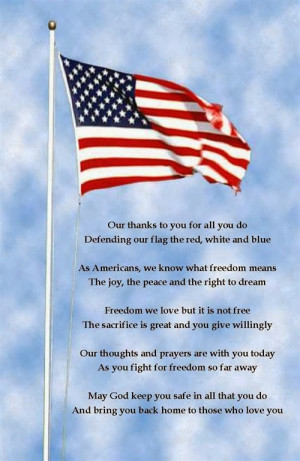 Freedom we love but it is not free, the famous statement is showed in ...