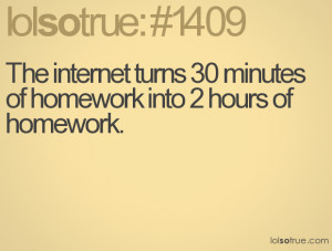 minutes of homework into 2
