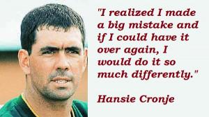 Hansie Cronje