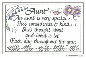 Aunt Quotes Sayings
