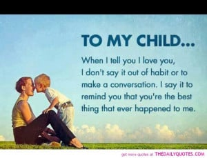 Love My Children Quotes And Sayings