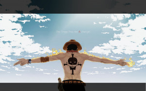 Download Portgas D. Ace - One Piece wallpaper