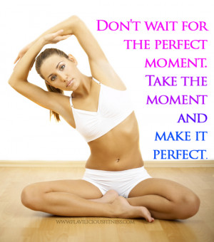 Take The Moment & Make It Perfect