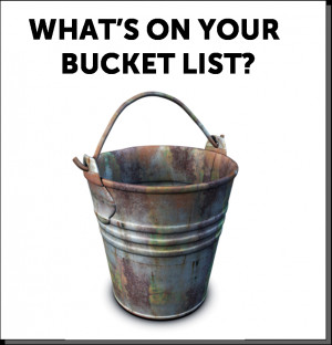 Thanks to everybody that participated in the Bucket List Contest ...