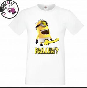 Detalles de Para Hombre Funny Minion Banana Camiseta Despicable Me 2 ...