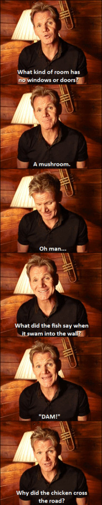 Gordon Ramsay Joking Around