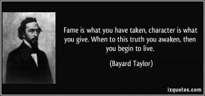 More Bayard Taylor Quotes