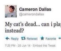 Cameron Dallas Twitter Quotes