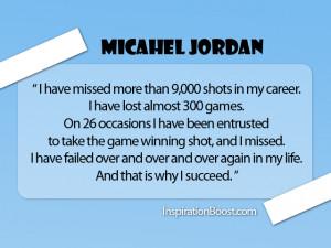 Famous Failures Michael Jordon