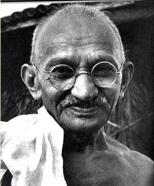 "You must be the change you wish to see in the world."" — Mahatma ..."