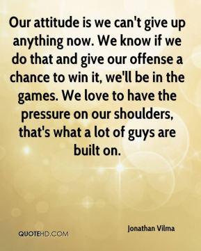 More Jonathan Vilma Quotes