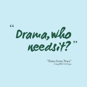 Facebook Drama Quotes and Sayings