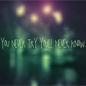 Dare to try to know