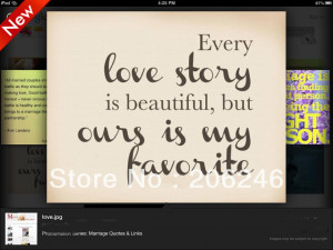 STORY IS BEAUTIFUL Vinyl Wall Lettering Stickers Quotes and Sayings ...