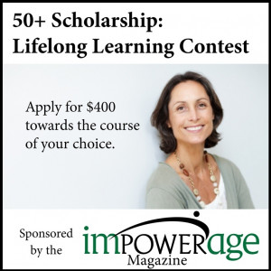 ... : 50+ Scholarship encouraging lifelong learning by August 17th, 2012