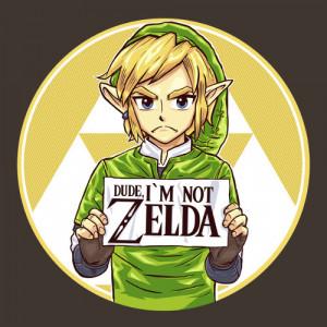 """Dude, I'm Not Zelda!! """" by rustenico"""
