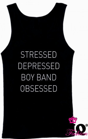 Stressed And Depressed Band Obsessed