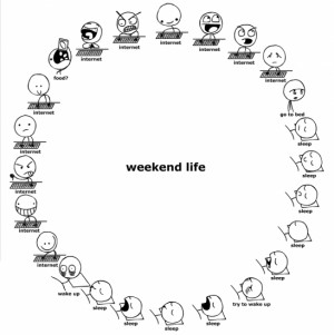 Weekend Funny Quotes And Sayings