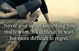 never give up, quotes, text, words