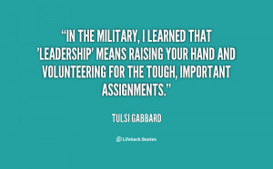 Military Leadership Quotes Military leadership quotes preview quote ...