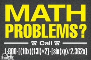 Math Problems? No problem. Just solve this for help.