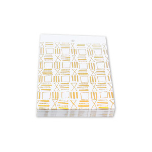 Squares & Lines Gift Tags Set