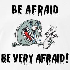 Funny Bowling Be Afraid Be Very Afraid T-Shirt