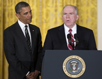 director of the central intelligence agency cia john brennan