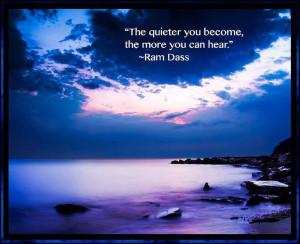 Ram Dass ~ Quote ~ Life ~Self ~