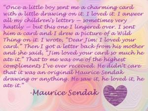 Maurice Sendak Quote