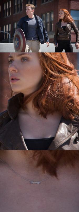 Black Widow Keeps Hawkeye Close To Her Heart In 'Captain America ...