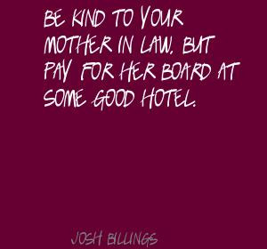 Good Mother in Law Quotes