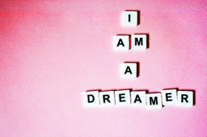 dreamer,pink,quotes,text,font,keayboard ...