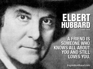 Elbert-Hubbard-Friend-Quotes
