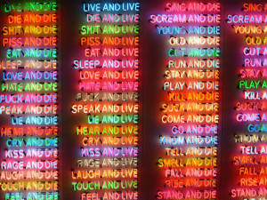 Bruce Nauman via lightquotes.tumblr.com