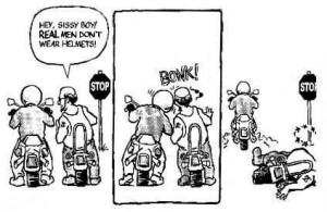Why we wear helmets... and a funny a** craigslist post.