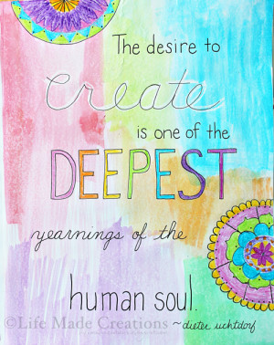Create Art Quotes Art journaled quotes