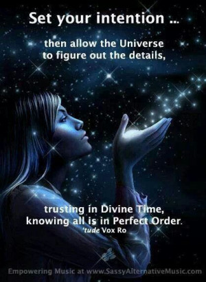 Quantum Physics - Set your Intention, then allow the Universe to ...