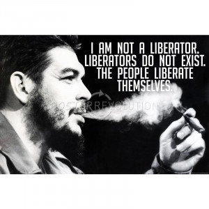 Che Guevara Quote Motivational Archival Photo Poster - 17x11