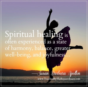 SPIRITUAL HEALING MEANS creating a shift in energy by making 12 ...