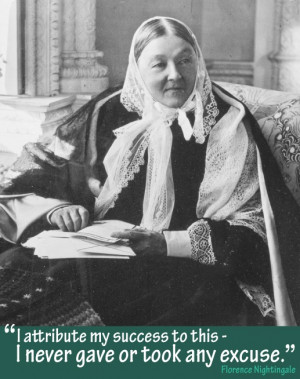 Nurses Week, our quote of the week comes from Florence Nightingale ...