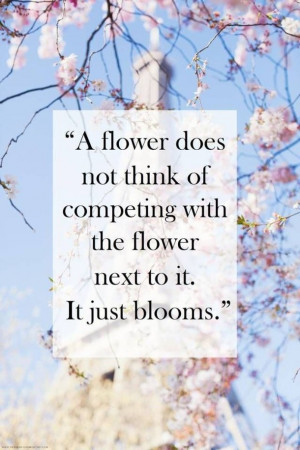 beauty, blooms, blossom, cute, flower, girl, happy, life, love, quote ...