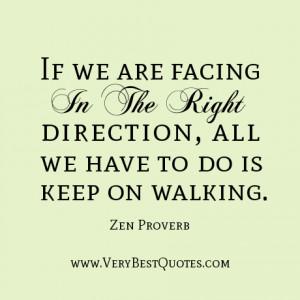 Keep Walking Inspirational