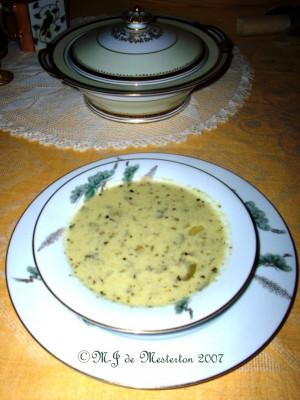 My Original Recipe: Low-Carbohydrate Celery Soup