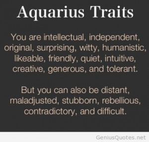 Aquarius Quotes And Sayings Quotes sayings