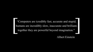 quotes fail grammar albert einstein black background leo cherne ...