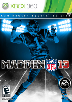 ... nfl 13 custom cover thread cam newton special edition full resolution