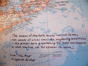 Elizabeth Bishop - The Map